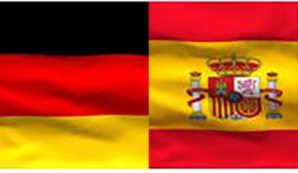 német spanypl zászló